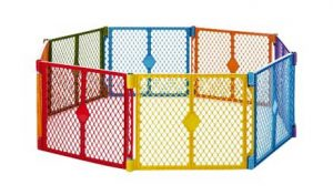 North States Superyard Colorplay 8 Panel Outdoor Play Yard